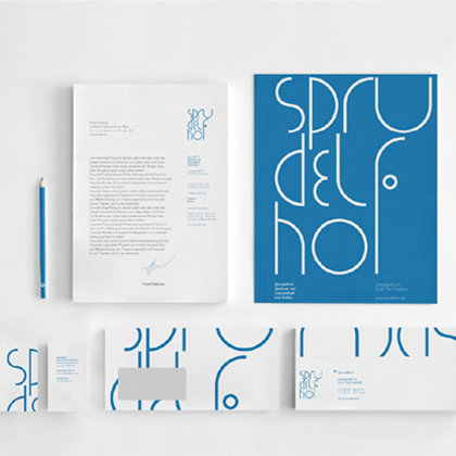 Corporate Design Sprudelhof Art Noveau Prof. Klaus Hesse
