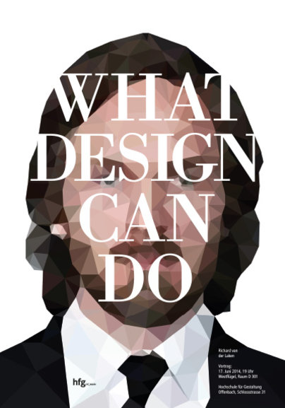What design can do! Richard van der Laken HfG Prof. Klaus Hesse