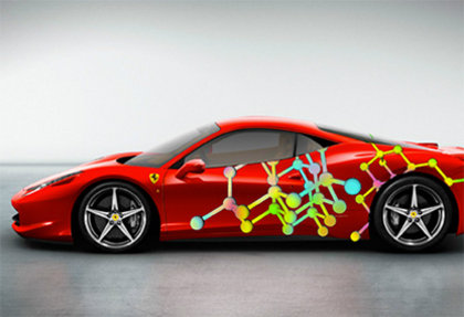 Students of Prof. Klaus Hesse design for Ferrari